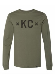 Made Mobb Kansas City Olive KC Signature Short Sleeve T Shirt