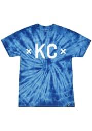 Made Mobb Kansas City Blue screen print graphic Short Sleeve T Shirt