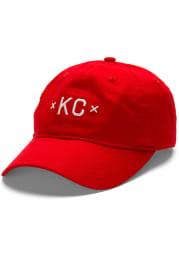 Made Mobb Kansas City KC Signature Adjustable Hat - Red