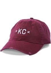 Made Mobb Kansas City KC Signature Adjustable Hat - Maroon