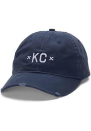 Made Mobb Kansas City KC Signature Adjustable Hat - Navy Blue