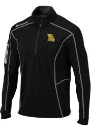 Columbia Missouri Western Griffons Mens Black Shotgun Long Sleeve 1/4 Zip Pullover