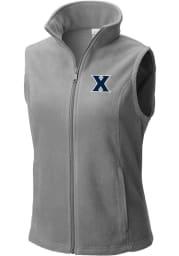 Columbia Xavier Musketeers Womens Grey Benton Springs Vest