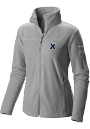 Columbia Xavier Musketeers Womens Grey Give and Go Light Weight Jacket