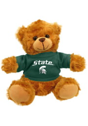 Michigan State Spartans 6 Inch Jersey Bear Plush