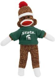 Michigan State Spartans 8 Inch Sock Monkey Plush