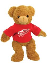 Detroit Red Wings Plush Hoodie Bear Plush