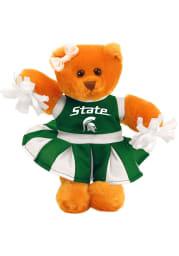 Michigan State Spartans 8 Inch Plush Cheer Bear Plush