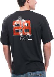 Claude Giroux Philadelphia Flyers Black screen printed Short Sleeve Player T Shirt