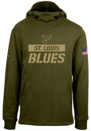 Levelwear St Louis Blues Mens Green Corporal Shift Hood