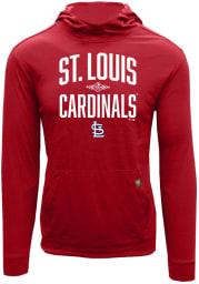 Levelwear St Louis Cardinals Mens Red Shift Hood