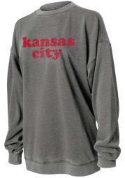 Kansas City Womens Dark Grey Campus Long Sleeve T Shirt