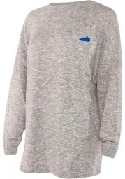 Kentucky Womens Grey Cozy Long Sleeve T Shirt