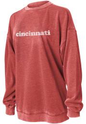 Cincinnati Women's Cardinal Campus Long Sleeve Crew