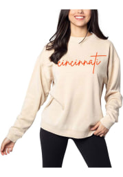 Cincinnati Womens Cardinal Campus Crew Crew Sweatshirt
