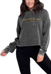 Wichita State Shockers Womens Charcoal Campus Hooded Sweatshirt