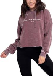 Texas A&M Aggies Womens Campus Hooded Sweatshirt