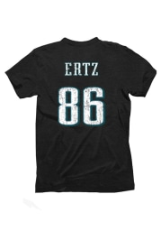 Zach Ertz Philadelphia Eagles Black Zach Ertz Short Sleeve Fashion Player T Shirt