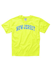 New Jersey Youth Yellow Neon Arch Short Sleeve T Shirt