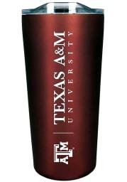 Texas A&M Aggies Team Logo 18oz Soft Touch Stainless Steel Tumbler - Maroon
