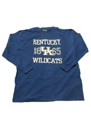Kentucky Wildcats Mens Blue 1865 Big and Tall Long Sleeve T-Shirt