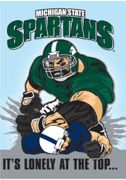 Michigan State Spartans Rival Card