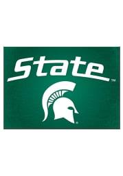 Michigan State Spartans Spartan Logo Blank Card