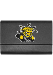 Wichita State Shockers Leather Business Card Holder