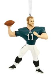 Philadelphia Eagles Carson Wentz Player Ornament