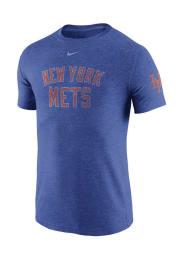 Nike New York Mets Blue DNA Short Sleeve Fashion T Shirt