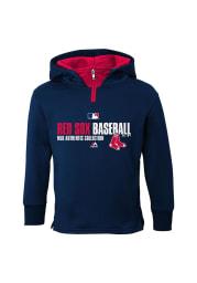 Boston Red Sox Kids Navy Blue Team Favorite Long Sleeve Hoodie