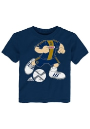 Philadelphia Union Infant Dream Job Short Sleeve T-Shirt Navy Blue