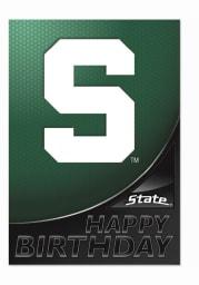 Michigan State Spartans Happy Birthday Card