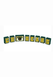 Baylor Bears Block Set Desk and Office Block Set