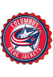 Columbus Blue Jackets Bottle Cap Sign