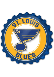 St Louis Blues Bottle Cap Sign