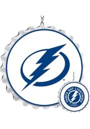 Tampa Bay Lightning Bottle Cap Dangler Sign