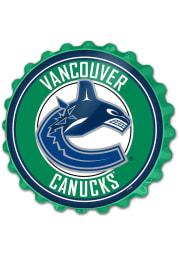 Vancouver Canucks Bottle Cap Sign