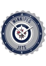 Winnipeg Jets Bottle Cap Wall Clock
