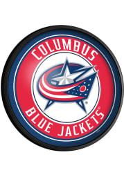 Columbus Blue Jackets Round Slimline Lighted Sign