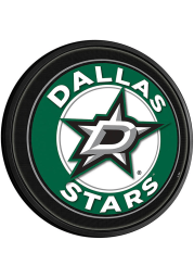 Dallas Stars Round Slimline Lighted Sign