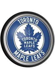 Toronto Maple Leafs Round Slimline Lighted Sign