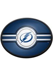 Tampa Bay Lightning Oval Slimline Lighted Sign
