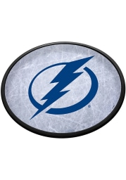 Tampa Bay Lightning Ice Rink Oval Slimline Lighted Sign