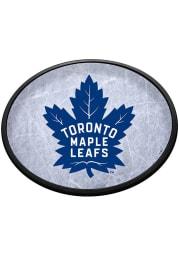 Toronto Maple Leafs Ice Rink Oval Slimline Lighted Sign