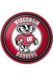 Wisconsin Badgers Mascot Modern Disc Sign