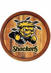 Wichita State Shockers Faux Barrel Top Sign