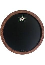 Dallas Stars Chalkboard Faux Barrel Top Sign