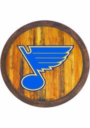 St Louis Blues Faux Barrel Top Sign