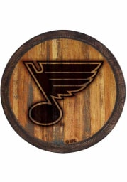 St Louis Blues Branded Faux Barrel Top Sign
